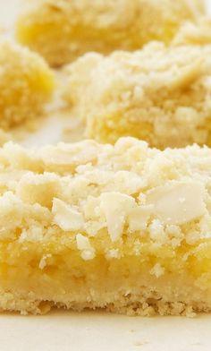 Lemon Almond Crumb Bars