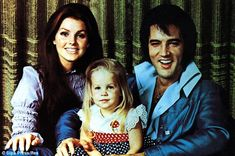 Broken family: The marriage was over in 1968, but they both doted on their precious daughter #elvispresley