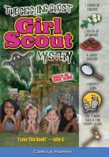 """The Giggling Ghost Girl Scout Mystery by Carole Marsh  978-0-635-10230-0 / Gallopade  The glamor and glitz of girl scouting will entice young readers into this mystery set in Savannah, Georgia. The city's reputation as """"the most haunted town in America"""" provides a thrilling backdrop to the sightseeing of five young scouts, Ella, Avery, Grace, Amber, and Christina, who receive a series of mysterious hand-written riddles and clues ...."""
