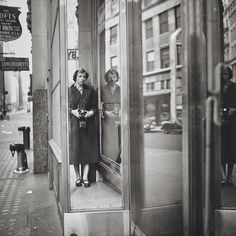 Find the latest shows, biography, and artworks for sale by Vivian Maier. Vivian Maier was a photography hobbyist whose output would become an influential bod… Minimalist Photography, Contemporary Photography, Urban Photography, Color Photography, Film Photography, Reflection Photography, Documentary Photography, Vivian Maier, Self Portrait Photography