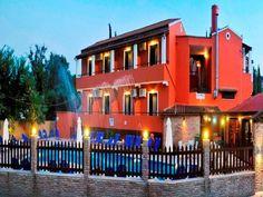 Hotel Lavrion Studios, Ipsos, Corfu, Grecia, Creta, Corfu, Greece, Studios, Mansions, House Styles, Home Decor, Greece Country, Decoration Home