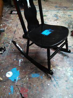 Rocking Chair In Flotoma Studios Portland Oregon 2013 Sam Roloff