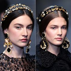 Dolce & Gabbana осень-зима 2012/13(@)