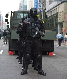 Taiwan's new army uniforms are downright scary!