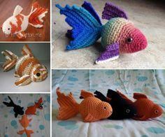 Crochet Goldfish Free Pattern