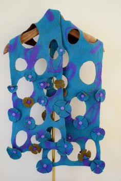 atsuko sasaki's felted objects - scarf