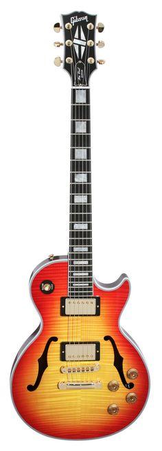 Gibson Custom Shop Benchmark Collection 2014 Limited Run Les Paul Florentine Figured Cherry Sunburst   Rainbow Guitars