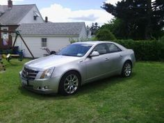 My 2008 Cadillac CTS, 300 hp V6, sport suspension, big fat tires and everything