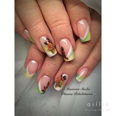 Autumn Nails, Flower Nails, Pure Beauty, French Nails, Christmas Nails, Nails Inspiration, How To Do Nails, Pretty Nails, Nail Colors