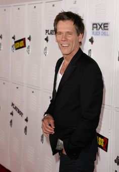 "Kevin Bacon - Playboy And Universal Pictures' ""Kick-Ass 2"" Event At Comic-Con Sponsored By AXE Black Chill - Red Carpet"
