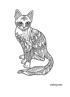 Adult Coloring Page From Colory App 300 Pages Are Available For Lovers