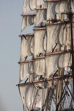 Aged sails