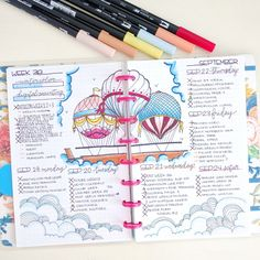 This month's edition of Boho Berry Guests featured the talented Nicole Lara and her discbound Bullet Journal.