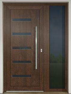 Contemporary Garage Doors, Modern Entrance Door, Main Entrance Door Design, Front Door Design Wood, Modern Exterior Doors, Double Door Design, Wooden Door Design, Modern Door, Wooden Doors