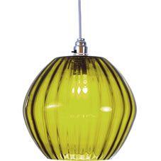 Marni Glass Pendant Green