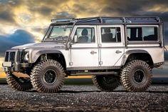 Need...  Land Rover Defender Icon V8 BOND Wagon - Land Rover Defender Icon  #landrover #defendericonv8bondwagon