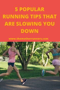 These running tips have been around for a long time but new science shows that they are a waste of time & could be making us run slower. Running Tips Beginner, Beginner Runner Tips, Beginners Cardio, How To Start Running, How To Run Faster, Running Plan, Running Workouts, Running Training, Training Tips