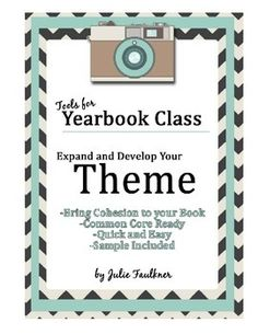 Yearbook theme development can be hard work. Use this exercise to make it a little easier.