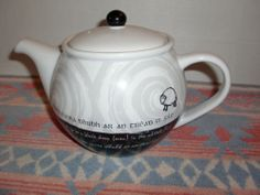 John Hinde Irish Proverbs Black Sheep Gaelic Teapot Hot Water Tea Pot Ireland | eBay