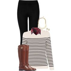 wish me luck on my chem test by sophiap626 on Polyvore featuring Saint James, Patagonia, Wolford, Tory Burch, J.Crew and Kate Spade