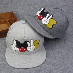 Visit to Buy  HOT 2016 cartoon cute Mickey baseball cap Snapback Hats  brand Hip-hop hat High quality Bone gorras Women Man Chapeau Casquette 33e86b1bf22