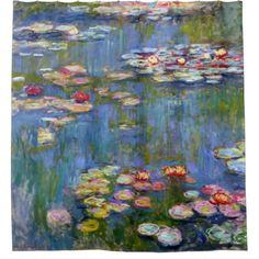 Shop for Claude Monet 'Water Lilies' Wrapped Canvas Art. Get free delivery On EVERYTHING* Overstock - Your Online Art Gallery Store! Claude Monet, Les Nénuphars Monet, Lily Painting, Painting Prints, Fine Art Prints, Painting Canvas, Monet Paintings, Flower Paintings, Painting Flowers