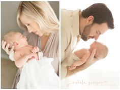 Houston newborn photographer in studio session