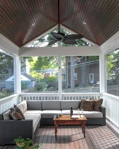 Eco Transitional - traditional - Porch - Dc Metro - EnviroHomeDesign LLC