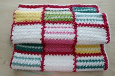 Felted Button: ::Patch Me a Line Crochet Pattern::