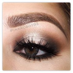 .@Vicky Armendariz | For this look I used Cork and Carbon eyeshadows by Mac in the inner and outer...