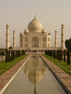 Taj Mahal, India #taj #mahal #india #palace