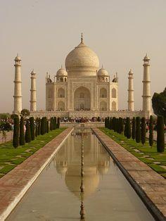 Taj Mahal, India #taj #mahal #india #palace