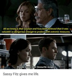 Sassy Fitz gives me lifeeee Marvel Dc Comics, Marvel Heroes, Marvel Avengers, Dc Movies, Marvel Movies, Melinda May, Fitz And Simmons, Def Not, Marvels Agents Of Shield