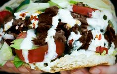 Doner Kebab Recipe! If you've ever had an authentic german style doner you know how addicting they are and feel my desire to have another!! This recipe is the closest I've found!
