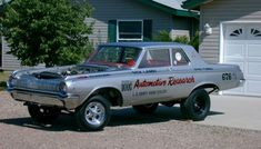 1964 Dodge 330 – Dick Landy's first altered-wheelbase funny car