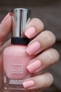 Sally Hansen Complete Salon Manicure - Pink At Him 500 Nail Design, Nail Art, Nail Salon, Irvine, Newport Beach