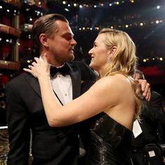 Leonardo DiCaprio, Kate Winslet Talk About Getting Married? Have An Intimate Moment At Oscars!