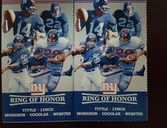 #tickets New York Giants vs New Orleans Saints Tickets 09/18/16 (East Rutherford) 2 ticks please retweet