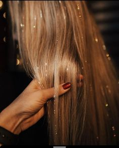 Hair Tinsel Strands Kit, Tinsel Hair Extensions, Fairy Hair Tinsel Kit for Women Girls with Tools Colors+Dark Brown Silicone Link Rings Beads, 2400 Strands) Hair Tinsel, Fairy Hair, Grunge Hair, Dream Hair, Pretty Hairstyles, Formal Hairstyles, Natural Hairstyles, Wedding Hairstyles, Hair Dos