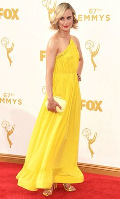 Taylor Schilling in Stella McCartney at the 2015 Emmys