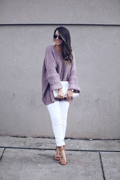 Oversized Knit, perfect for chilly spring nights! - Fashionably Kay