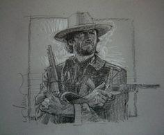 Josey Wales Comic Art
