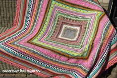 mevrouw haakgaren: Zonnig zomerplaid (CAL 2015)  --- wunderbare Decke ----  wonderful blanket
