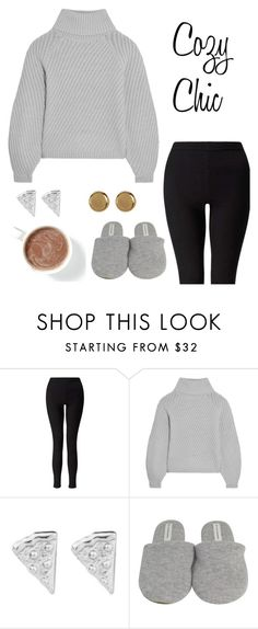 """""""Cozy Chic"""" by mystic-punk ❤ liked on Polyvore featuring Miss Selfridge, Iris & Ink, Rock 'N Rose and Argento Vivo"""