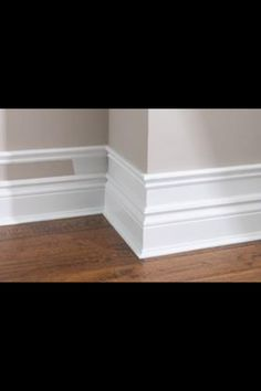 Skirting board extra