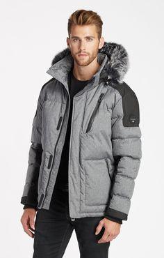 Weaver Short Jacket  - Grey Mix Combo