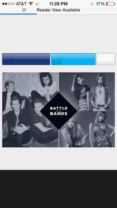 It's one direction vs kpop Again pin this to every board we can't lose again http://popcrush.com/one-direction-vs-2ne1-popcrush-battle-of-the-bands-poll-finals/