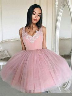 Homecoming Dress 2018 A-line Prom Drsess Juniors Homecoming Dresses SKY116