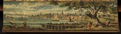 """Philadelphia   On the Edge. Great web site from the Boston Public Library exhibit titled, """"On the Edge. The Hidden Art of Fore-Edge Book Painting"""