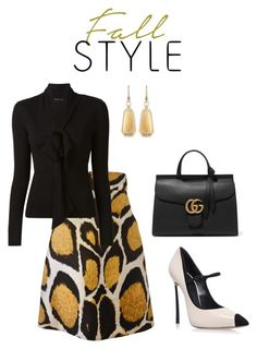 """Animal Print"" by arta13 on Polyvore featuring Giles, Casadei, Alexander McQueen, Gucci and Ivanka Trump"